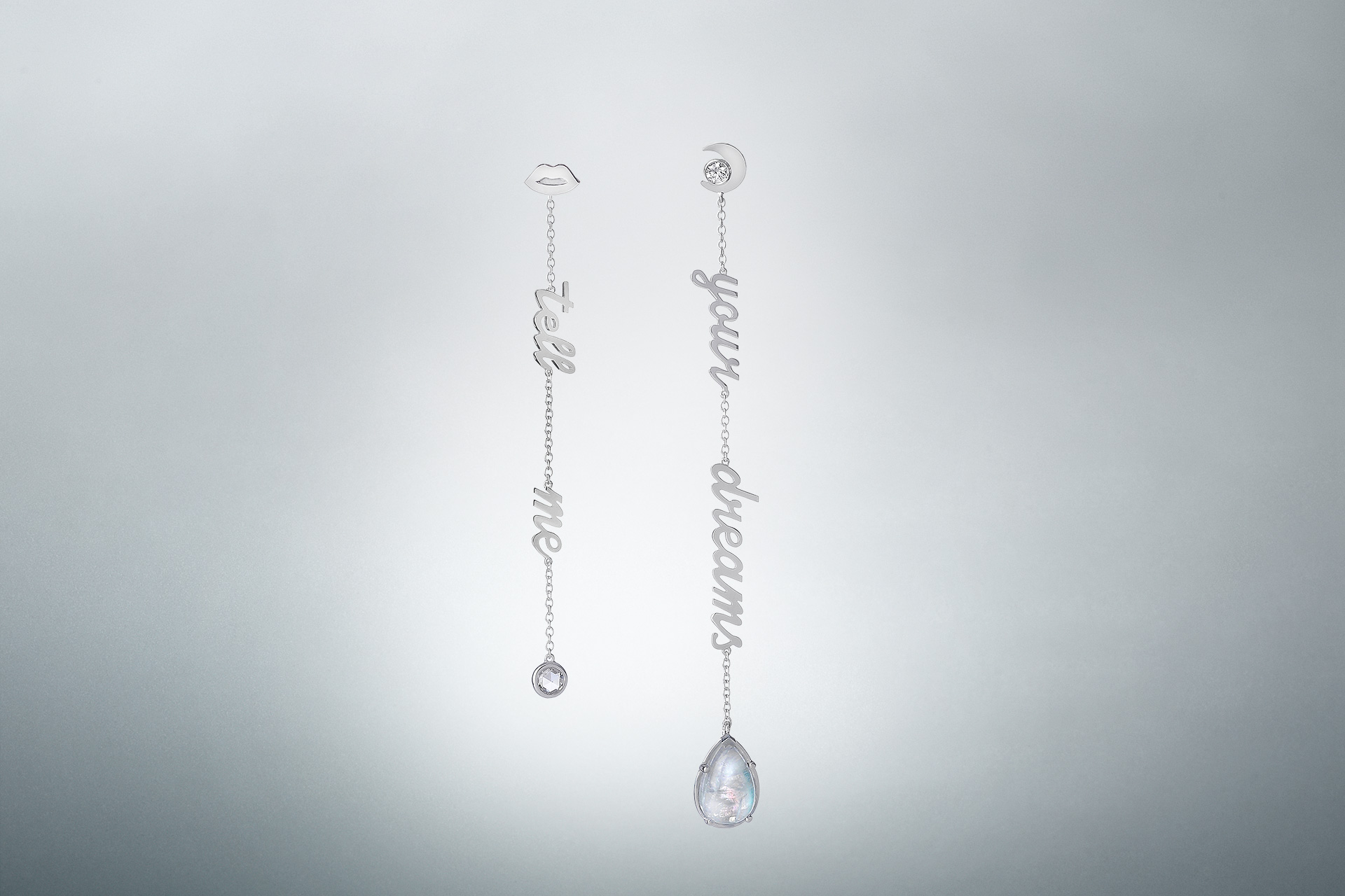 Tell Me Your Dreams earrings - Maria Kovadi