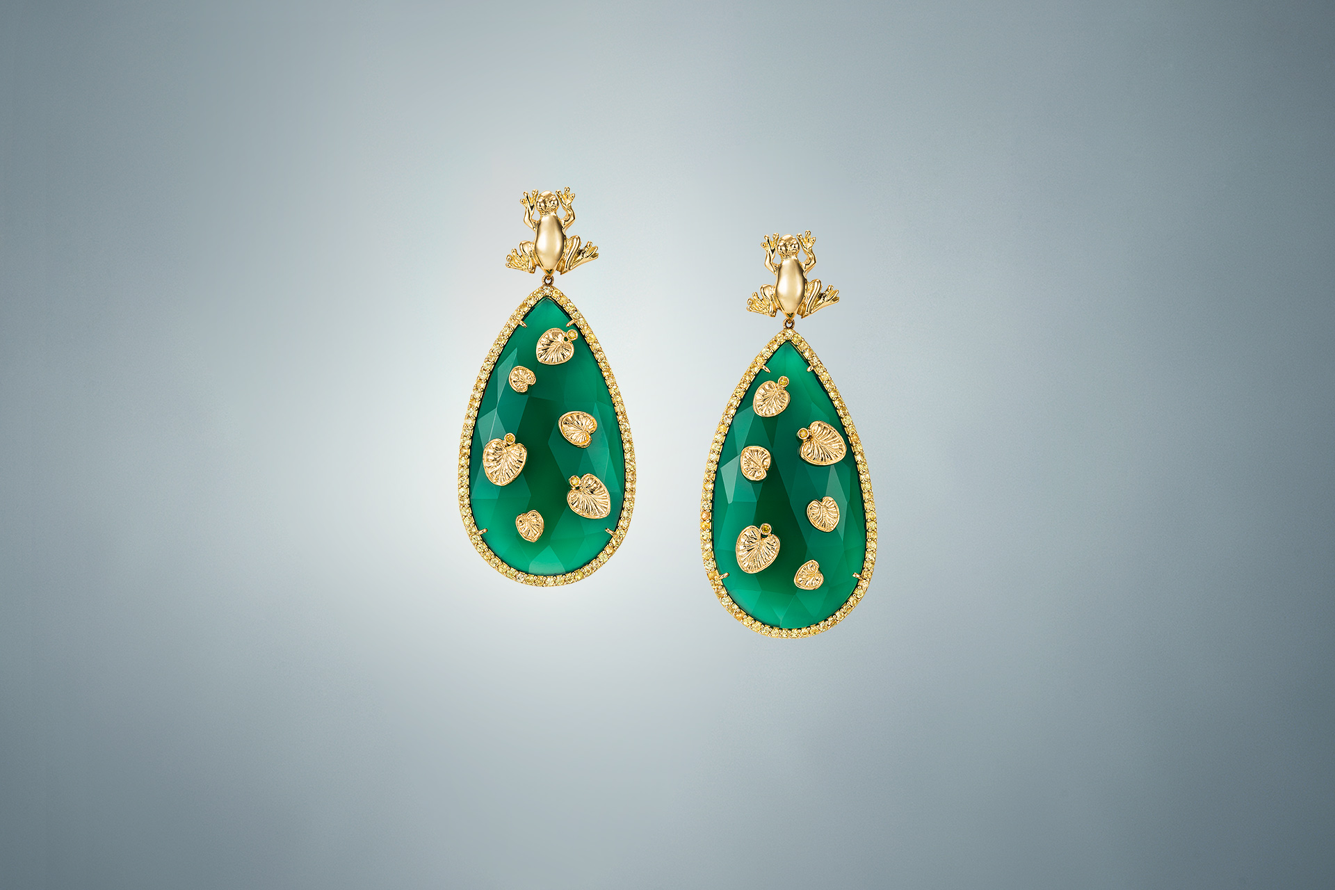 Precious Pond earrings - Maria Kovadi