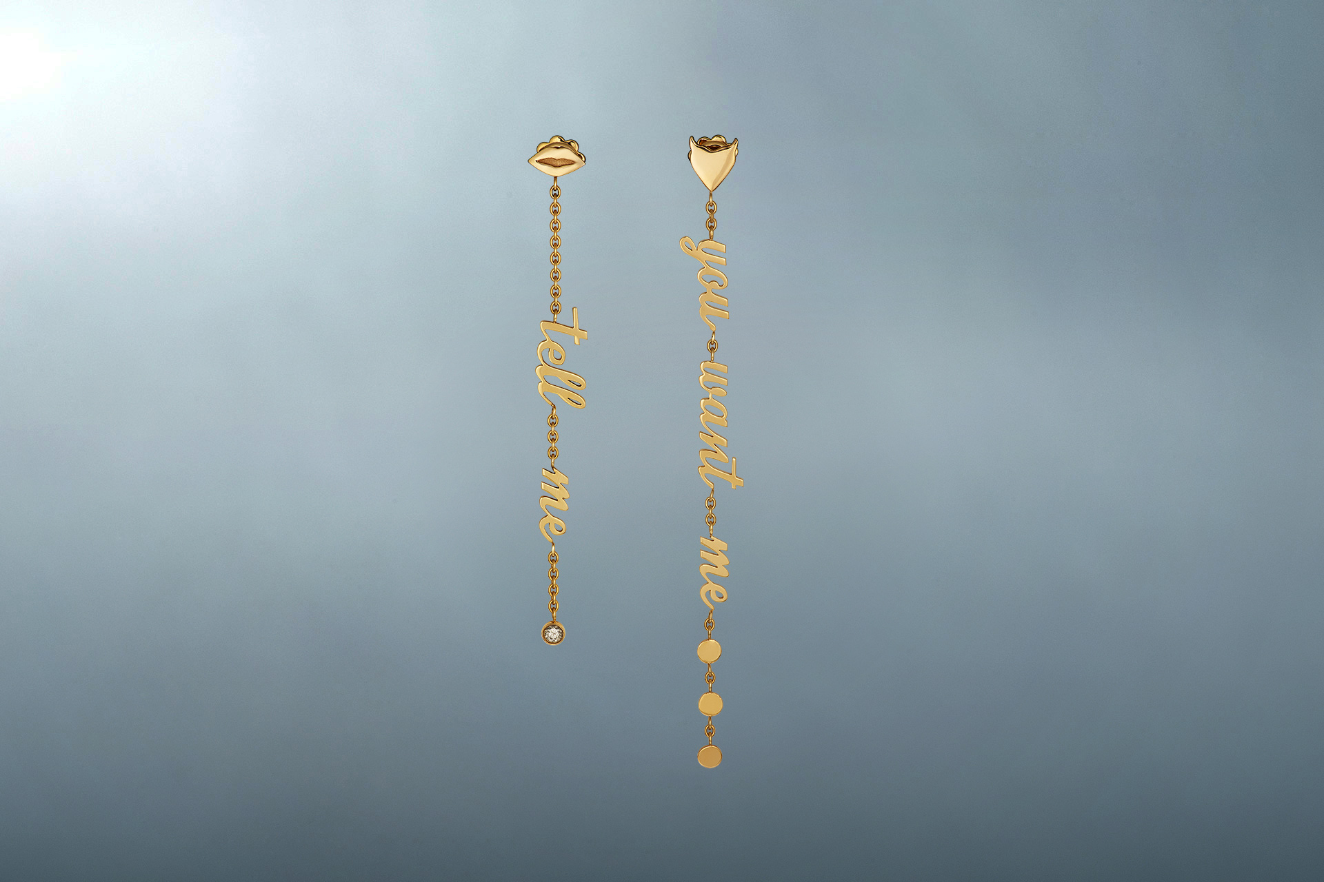Tell Me You Want Me earrings - Maria Kovadi