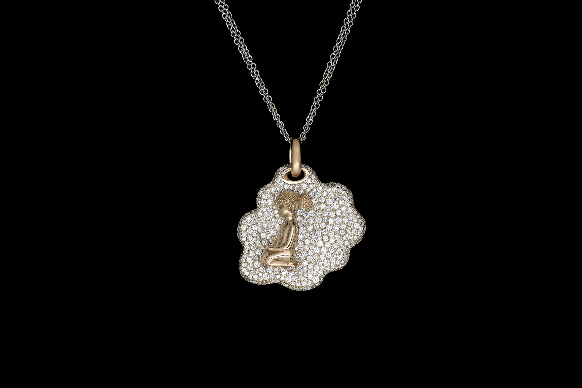 Little Girl pendant - Maria Kovadi